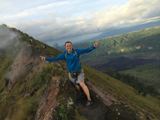 bali trekking hiking